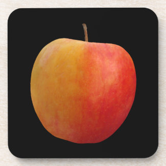 Red Apple Drink Coaster