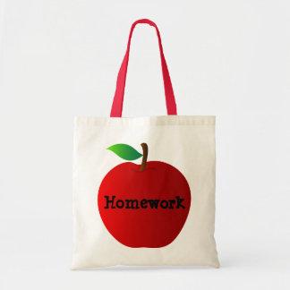 Red Apple - Homework Bag