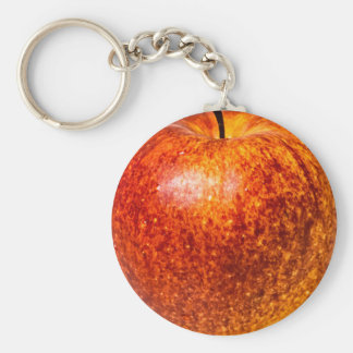Red apple keychain