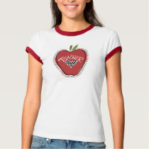 Red Apple Kindergarten Teacher Shirt