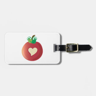 Red Apple Bag Tags