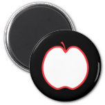 Red Apple. Magnets