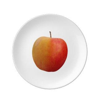 Red Apple Porcelain Plates
