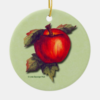 Red Apple Christmas Tree Ornaments