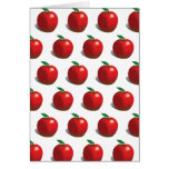 Red Apple Pattern Card