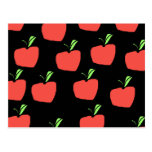 Red Apple Pattern. Postcard