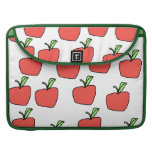 Red Apple Pattern. Sleeves For MacBook Pro