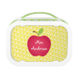 Red Apple Personalized Teacher&#39;s Lunch Box<br><div class='desc'>Red Apple Personalized Teacher&#39;s lunch box.</div>