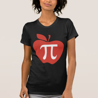 Red Apple Pi T-shirts