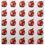 Red Apple Picture Art Design Napkin