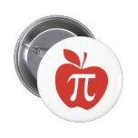 Red Apple Pie 2 Inch Round Button