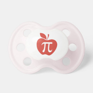 Red Apple Pie Pacifiers
