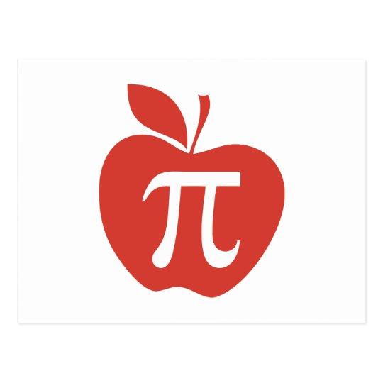 Red Apple Pie Postcard