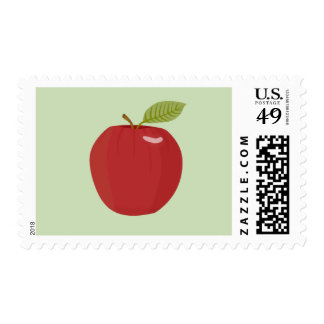 red apple postage