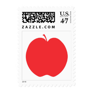 Red Apple. Postage