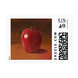 Red Apple Postage Stamps