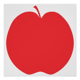Red Apple. Poster