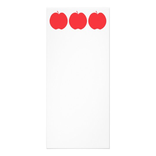 Red Apple. Rack Card