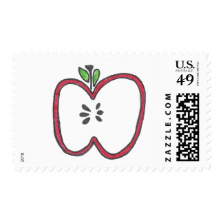 Red Apple Stamps