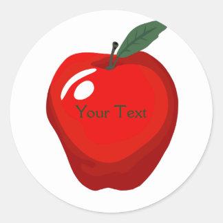 Red Apple Sticker