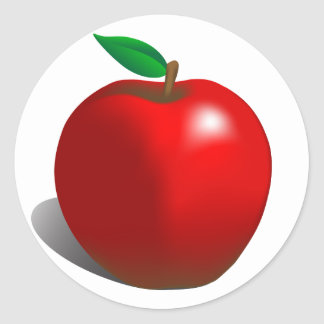 Red Apple Stickers