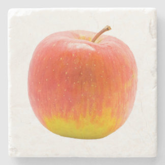 Red Apple Stone Coaster