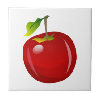 Red Apple Ceramic Tile