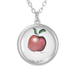 red apple, tony fernandes pendant