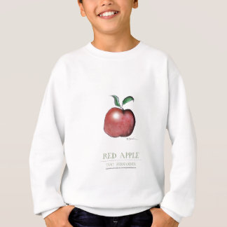 red apple, tony fernandes sweatshirt