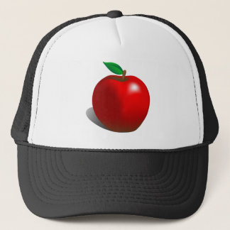 Red Apple Trucker Hat