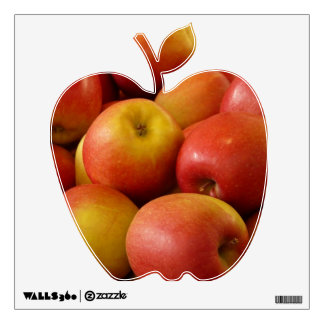 Red Apple Wall Decal for Kitchen
