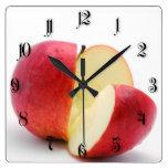 Red apple wallclocks