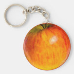 Red Apple Watercolor - Key Chain