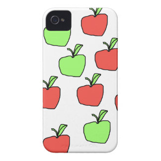 Red Apples and Green Apples Pattern. iPhone 4 Cover