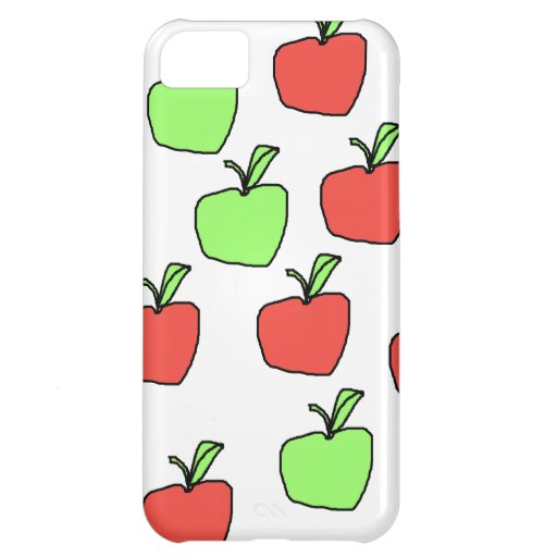 Red Apples and Green Apples Pattern. iPhone 5C Cases
