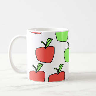 Red Apples and Green Apples, Pattern. Mugs