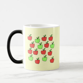 Red Apples and Green Apples, Pattern. Coffee Mugs