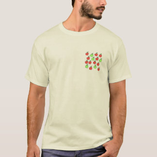 Red Apples and Green Apples, Pattern. T-Shirt