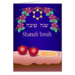Red Apples and Honey Shanah Tovah Card