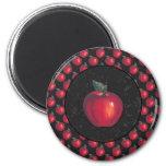 Red Apples Black Magnets