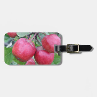 Red Apples in the Tree Luggage Tag