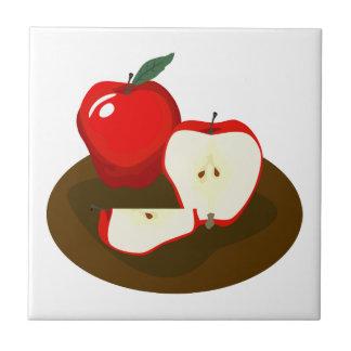 Red Apples Kitchen Tile