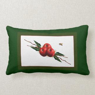 Red Apples Lumbar Pillow