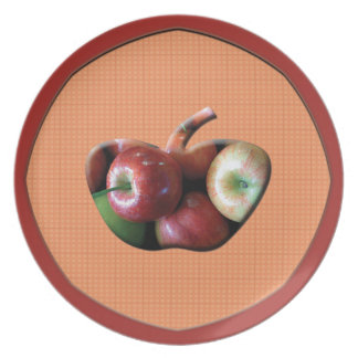 Red Apples Plate