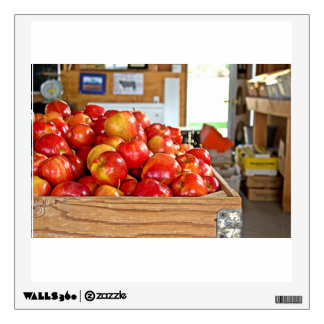 Red Apples Room Decal