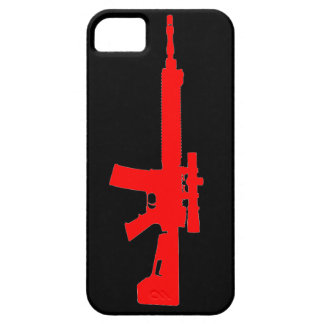 Red AR-15 iPhone 5 Universal Case