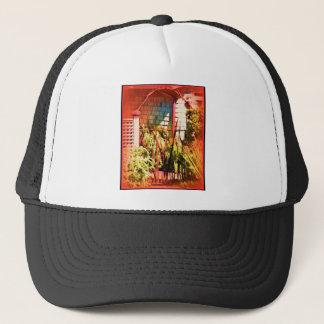 Red Arch Iron Gate Trucker Hat