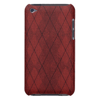 Red Arglye iPod Touch Case