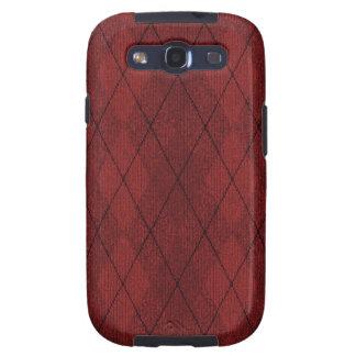 Red Arglye Samsung Galaxy S Case Galaxy SIII Case