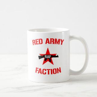 Red Army Faction with Red Army Faction Logo Coffee Mug